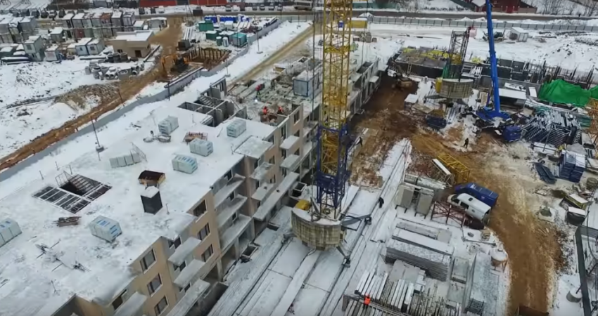 для жк позитив ход строительства ноябрь 2016 планировочное